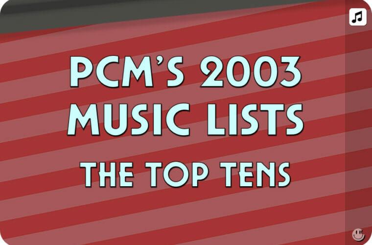 2003 Top Ten Music Charts