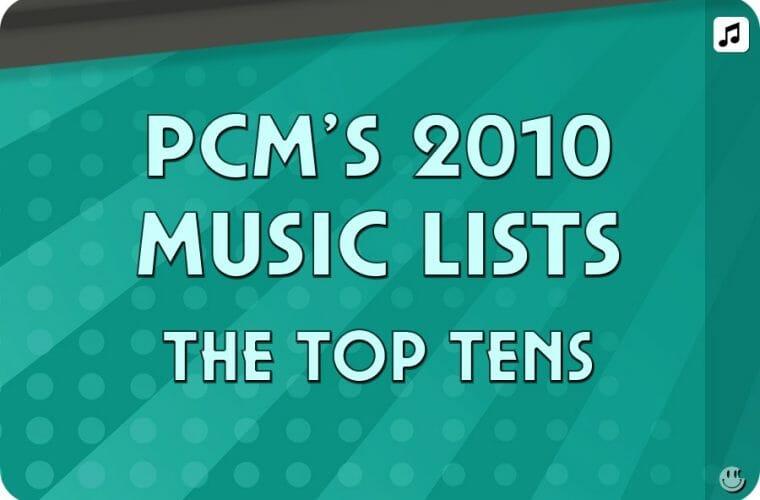 2010 Top Ten Music Charts