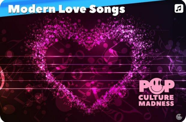 Modern Love Songs - Romantic Pop