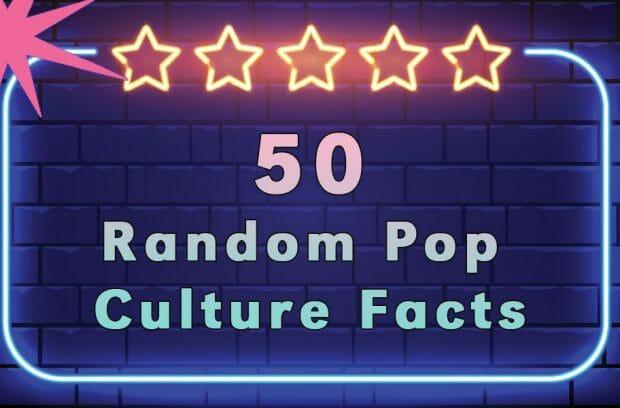 Pop Culture Trivia and Conversation Starters