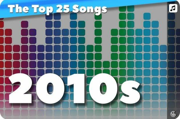 25 Biggest Songs of 2010 - 2019