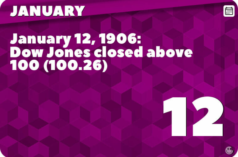 January 12 in Pop Culture History