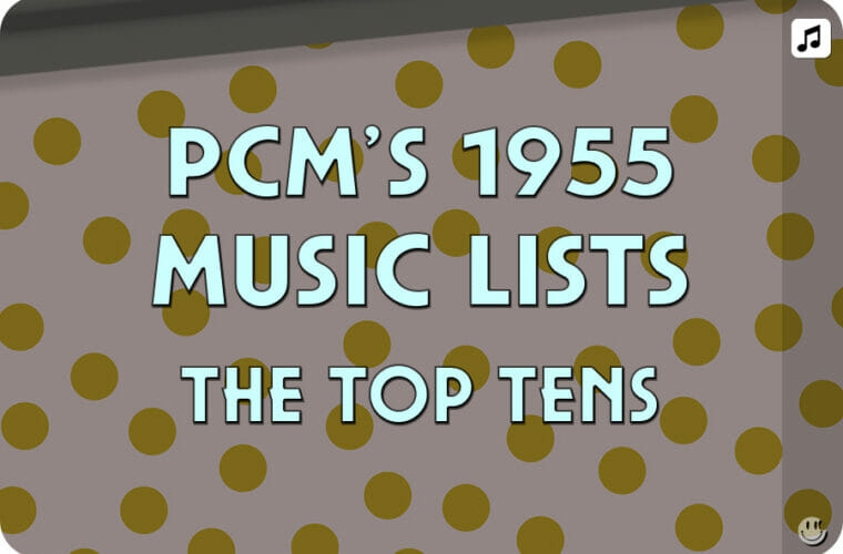 1955 Top Ten Music Charts