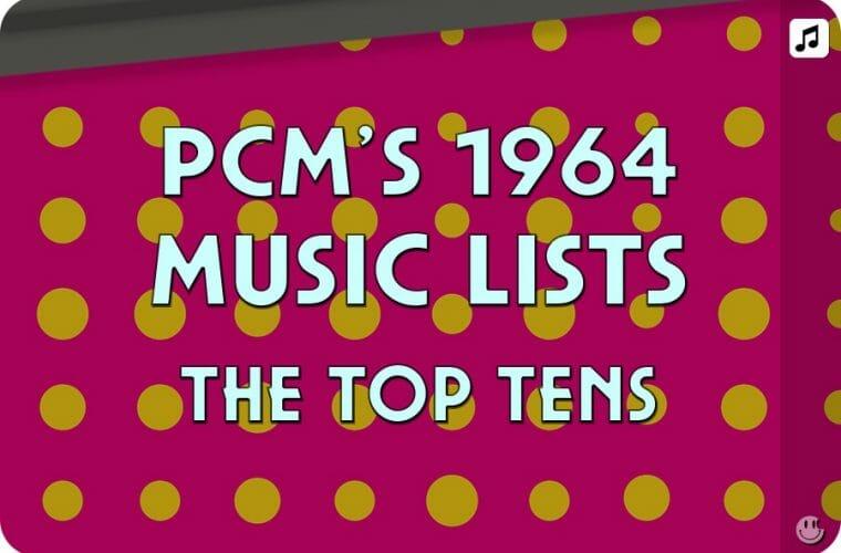1964 Top Ten Music Charts