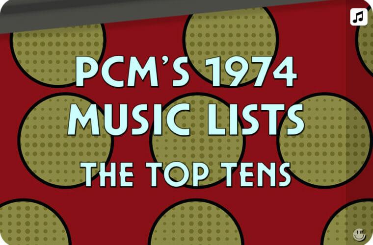 1974 Top Ten Music Charts