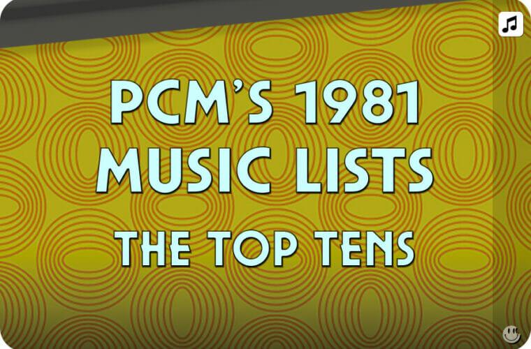 1981 Top Ten Music Charts