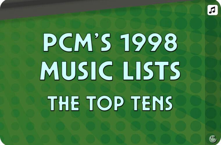 1998 Top Ten Song Charts