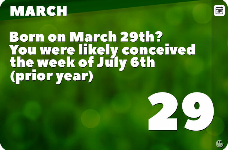 March 29 in Pop Culture History